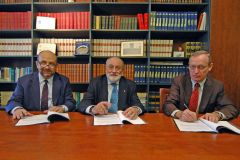 Gli avvocati Carena, Conesa e Duflos